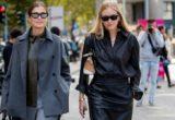 Leather shirts: πώς θα φορέσεις την πιο φρέσκια τάση της σεζόν