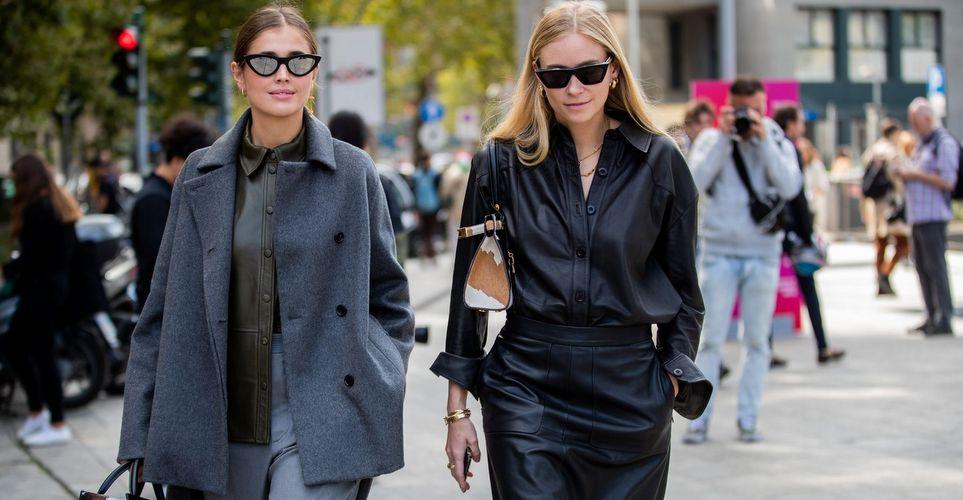 Leather shirts πώς θα φορέσεις την πιο φρέσκια τάση της σεζόν