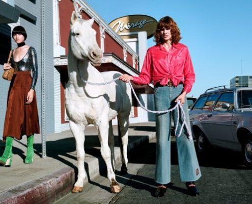 Los Angeles, άλογα και Λάνθιμος η νέα καμπάνια του οίκου Gucci για τη σεζόν ΆνοιξηΚαλοκαίρι 2020