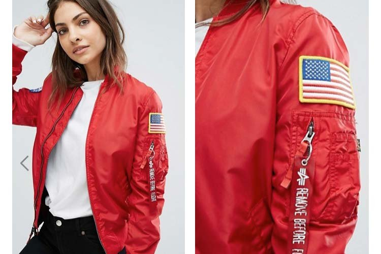 Nasa Reversible-Bomber Jacket Alpha-Industries, ASOS