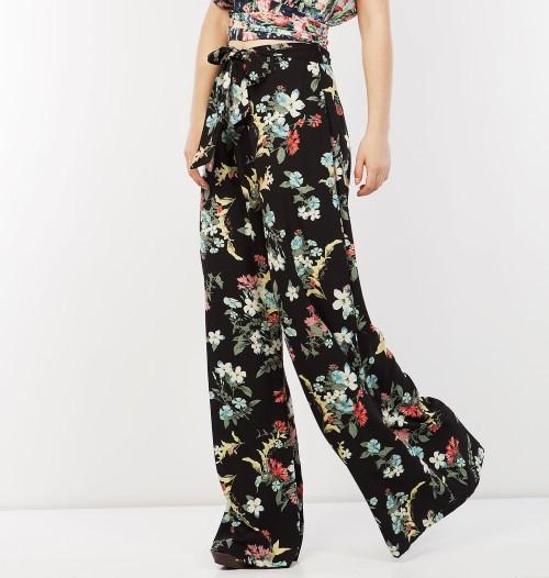 Silk-touch φλοραλ παντελόνα, 79,90 €