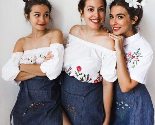 Τα κορίτσια του ''oh my deer blog'' κάνουν τέχνη
