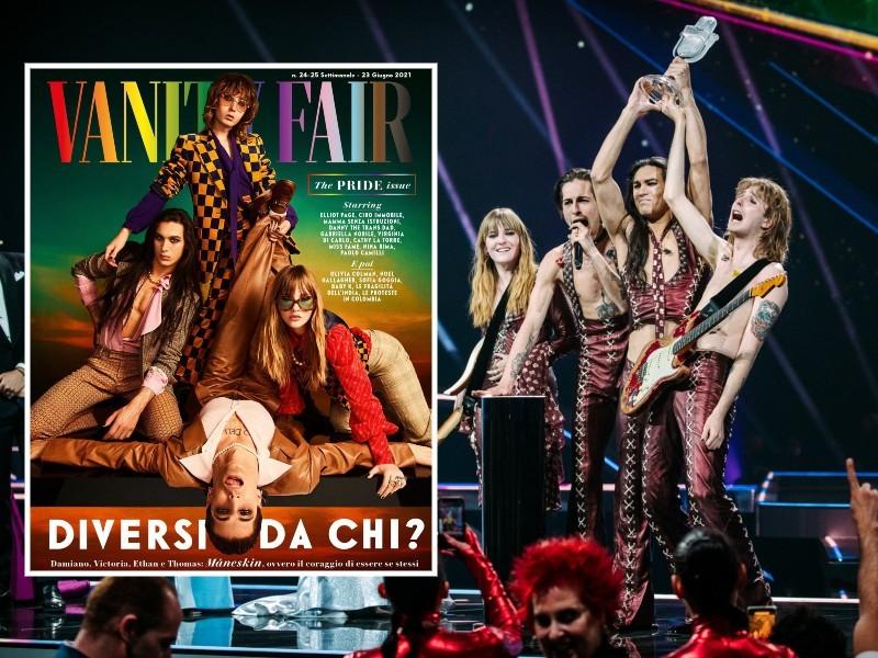 Οι Måneskin πρωταγωνιστούν στο εξώφυλλο του ιταλικού Vanity Fair