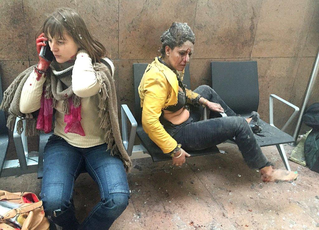 march-22-nidhi-chaphekar-flight-attendant-reacts-moments-following-suicide-bombing-brussels-zaventem-airport