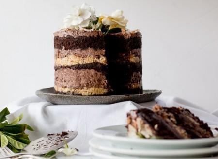 Momofuku German Chocolate Espresso Cake