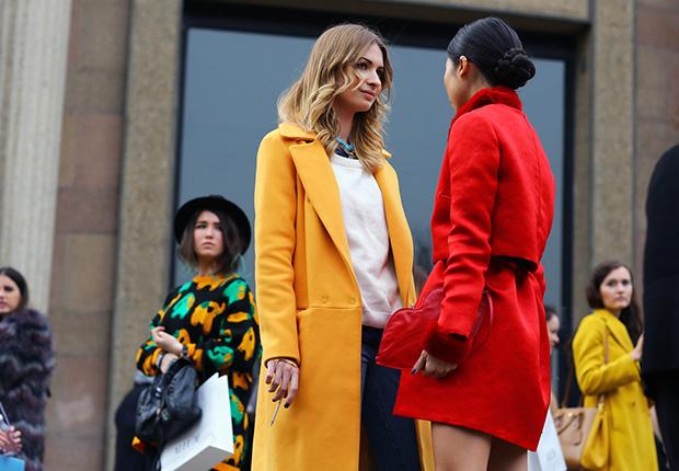 Inspirational Coats: Τα χρώματα που θέλουμε να φορέσουμε