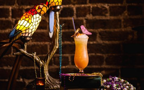 Το Hurricane όπως θα το έπινες σε ένα retro bar της Νέας Ορλεάνης