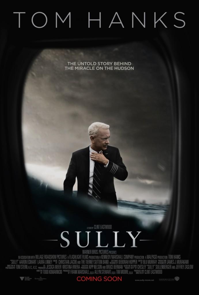 Το Sully ειναι καινουργια ταινια του Clint Eastwood