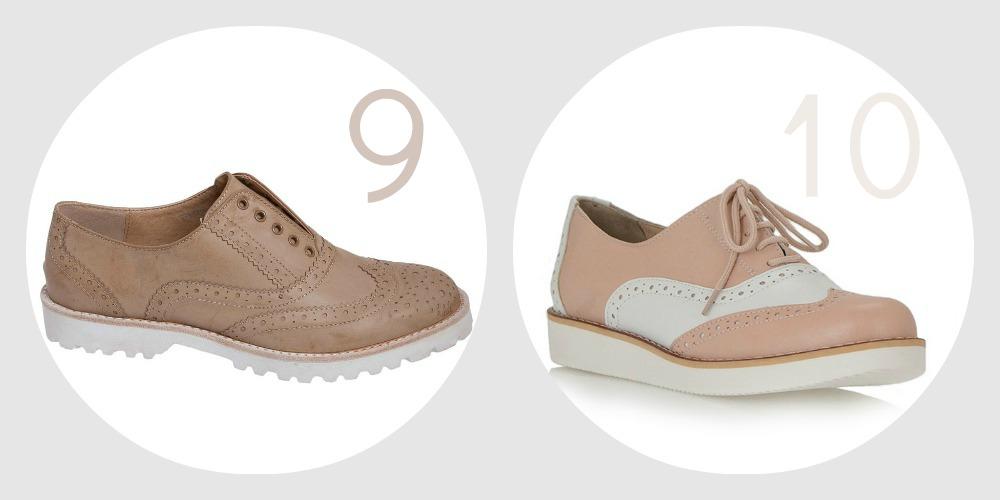 Shoe Trend The brogues savoir ville 5