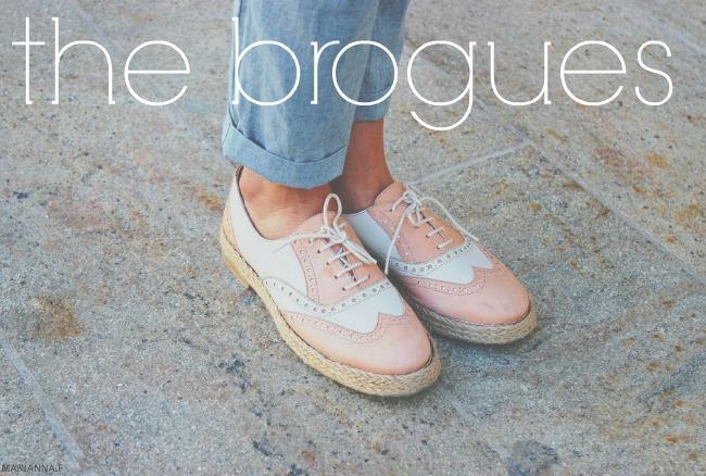 Shoe Trend The brogues savoir ville top