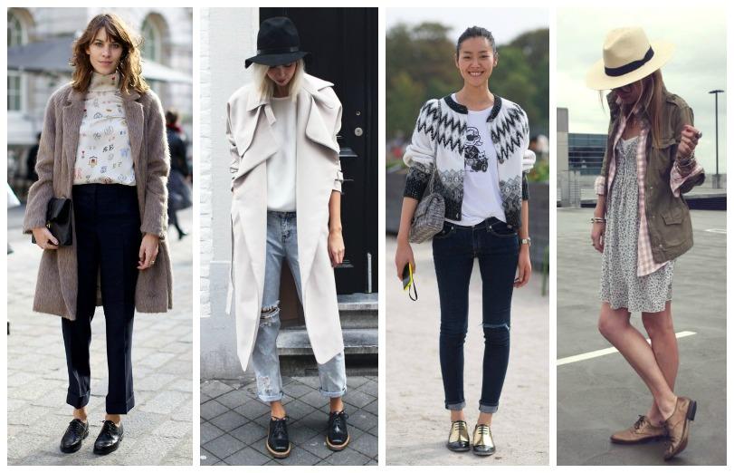 Shoe Trend The brogues savoir ville
