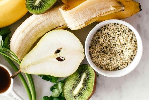 Smoothie με μαϊντανό και αχλάδι