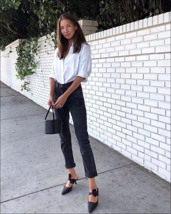 Straight-leg jeans και πως να τα φορέσεις