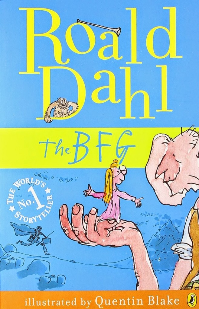 The BFG book jacket