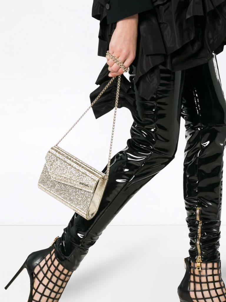 Woven Chain Bucket Bag, Free People