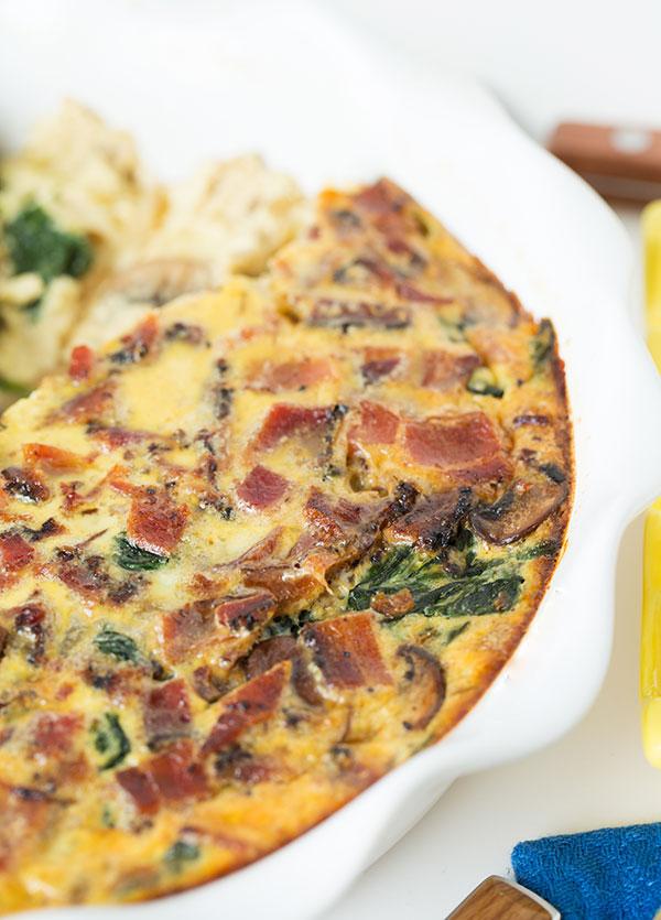 bacon-mushroom-spinach-quiche