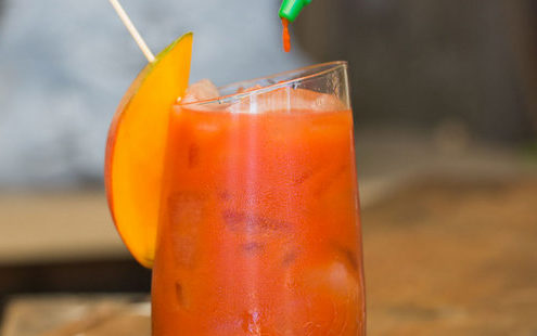 Bloody Mango Cocktail