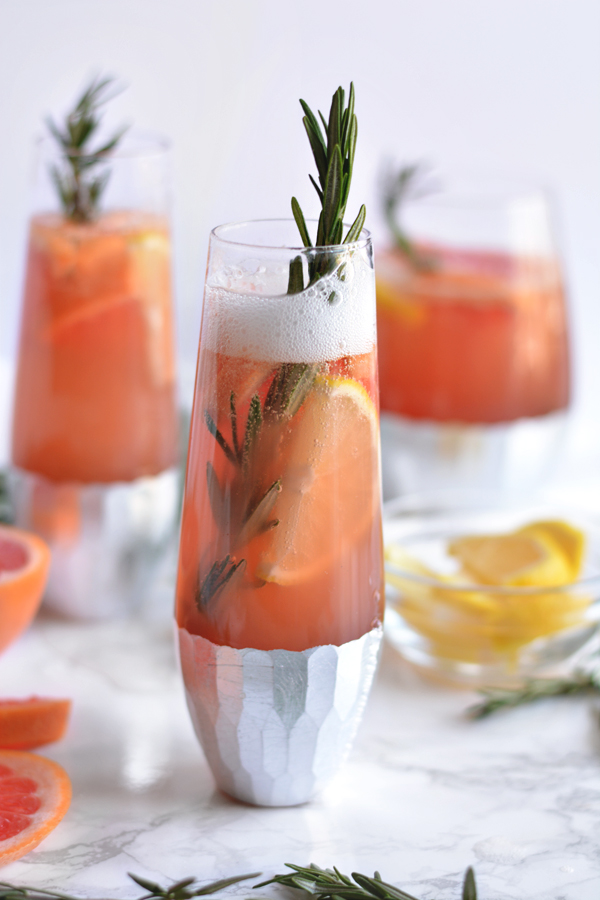 Bubbly Winter Citrus Sangria