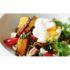 Σαλάτα με κολοκύθα, μανιτάρια και αυγό