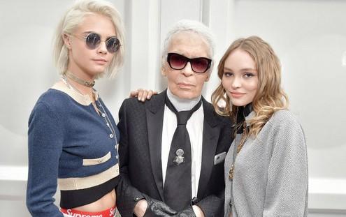 Ο Karl Lagerfeld αποκαλύπτει τα αγαπημένα του μοντέλα