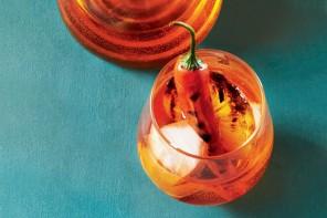 Αperol spritz με chilli και πορτοκαλι