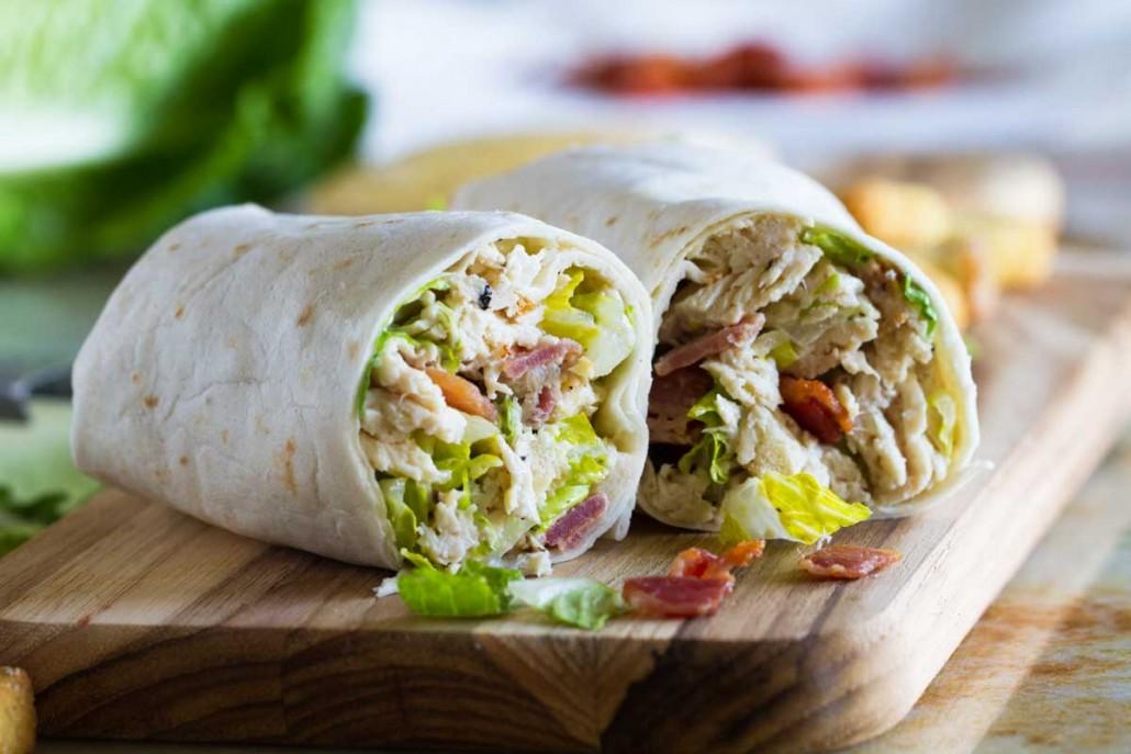 chicken-wrap