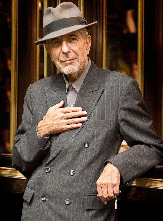 Leonard Cohen: η γοητεια και το ταλεντο στα 81
