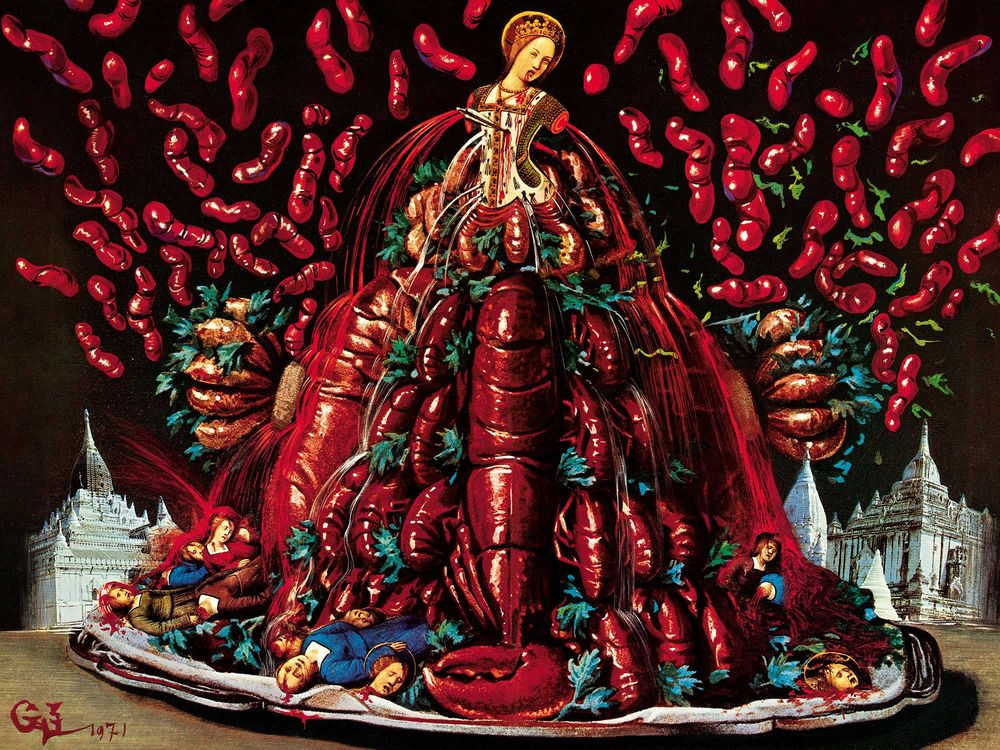 Το σουρεαλιστικο βιβλιο μαγειρικης του Salvador Dalí