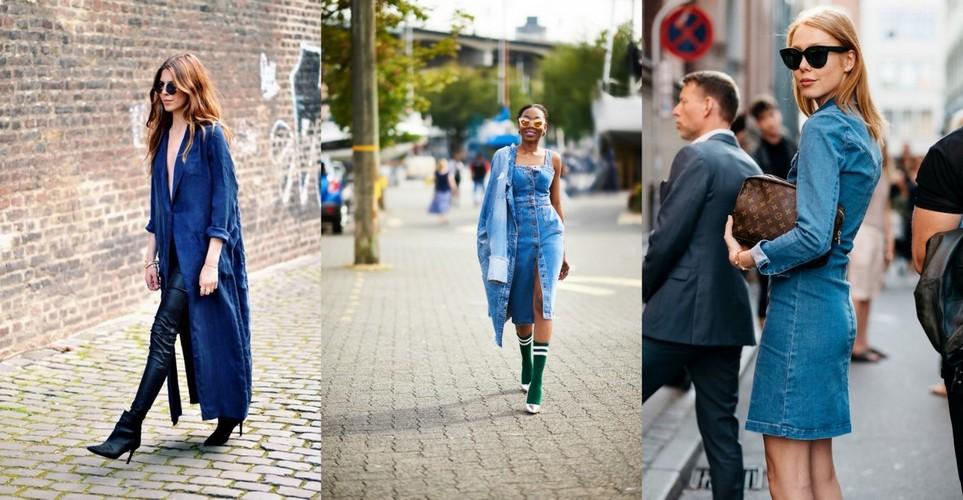 5 τρόποι να φορέσεις το denim dress αυτό το φθινόπωρο