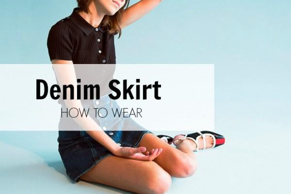 denim skirt how to wear savoir ville