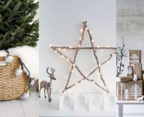 DIY χριστουγεννιάτικη διακόσμηση σε σκανδιναβικό στυλ