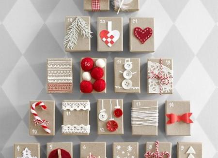 Handmade συσκευασίες δώρων για τις ημέρες των Χριστουγέννων