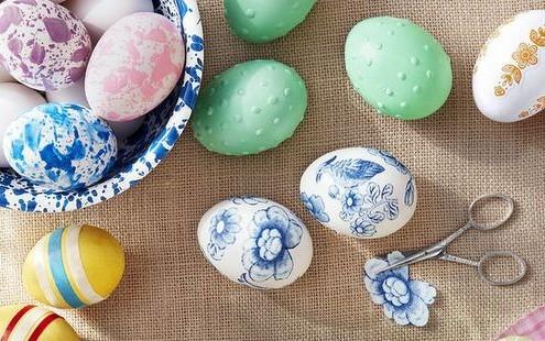 3 απλοί αλλά πανέμορφοι τρόποι να βάψεις τα πασχαλινά σου αυγά
