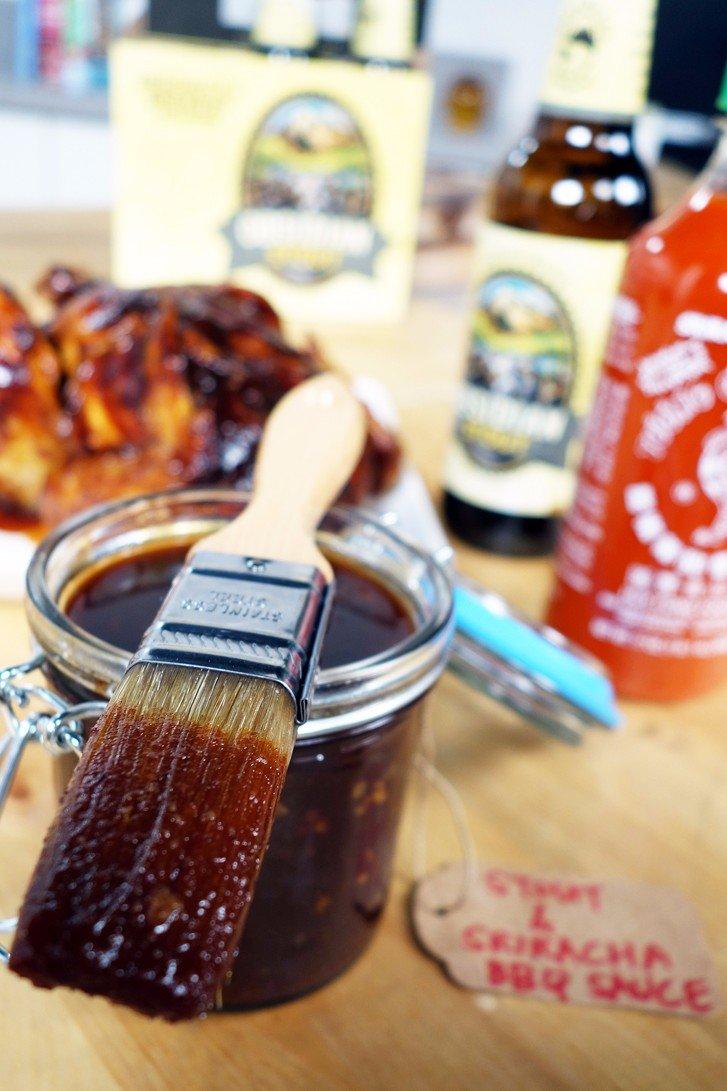 H τελεια Sriracha BBQ Sauce