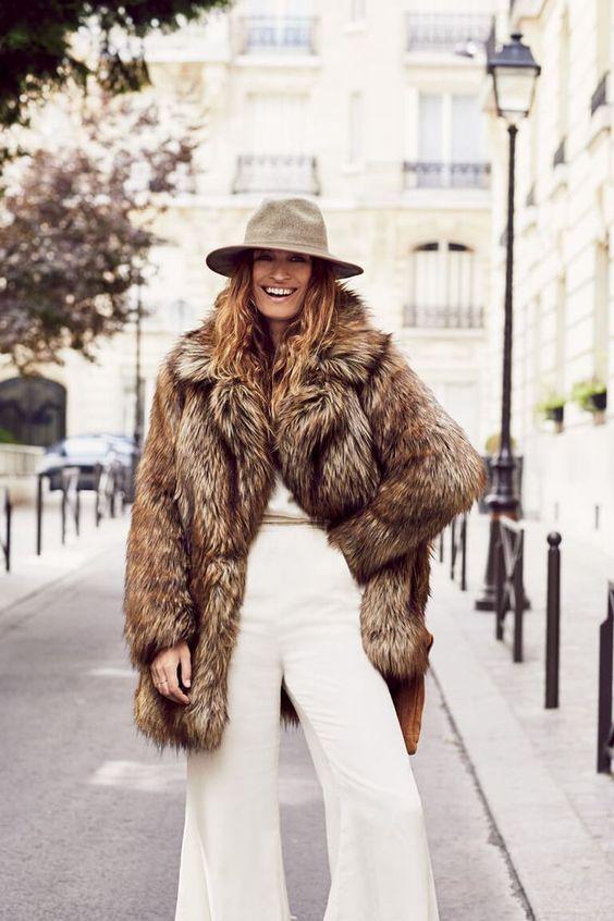 8 λόγοι να αγαπήσεις τα faux fur πανωφόρια