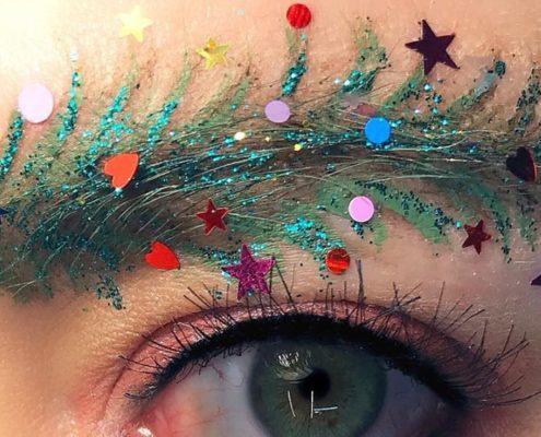 Christmas Tree Eyebrows: το νέο Instagram trend