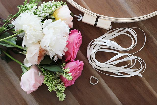 DIY: Φωτιστικο απο λουλουδια
