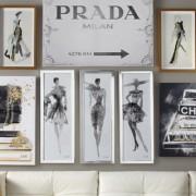 6 fashion illustrators σου δίνουν έμπνευση για τη διακόσμηση του σπιτιού σου