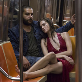 "Mark Schafer—HBO Christopher Abbott and Allison Williams in HBO's ""Girls."""