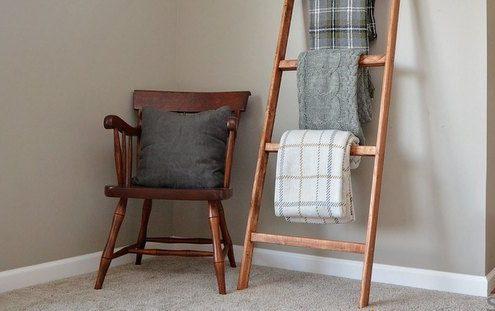 Πως να δημιουργήσεις μόνη σου τη δική σου blanket ladder