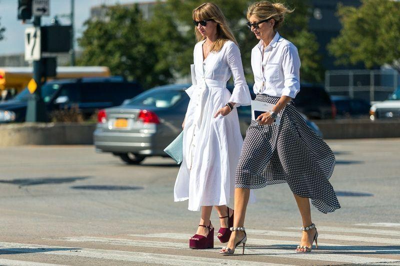 10 fashion tricks για τις μέρες που πρέπει να πας στο γραφείο με καύσωνα