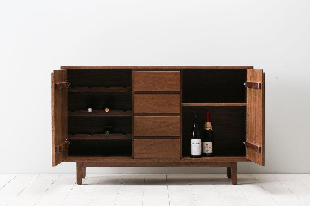 "Handcrafted ""Hayward"" Wine Cabinet - trnk-nyc.com"