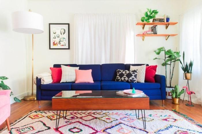 Πως το μικρό σου σαλόνι μπορεί να έχει μεγάλες δόσεις στιλ