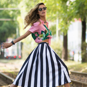 Street Style - Day 5 - Milan Fashion Week Womenswear Spring/Summer 2015