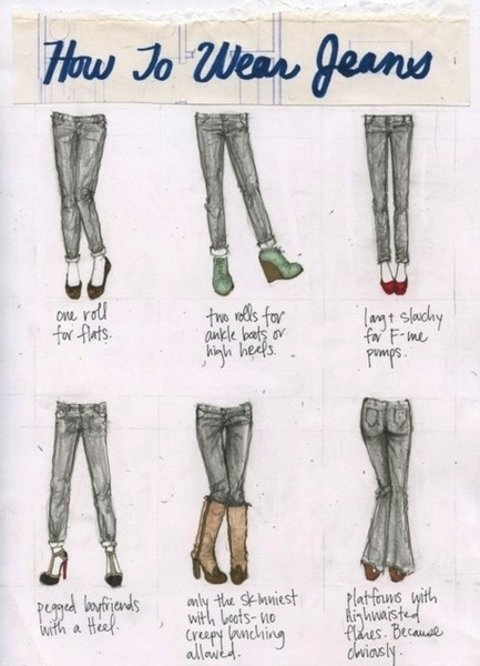 how-to-wear-jeans