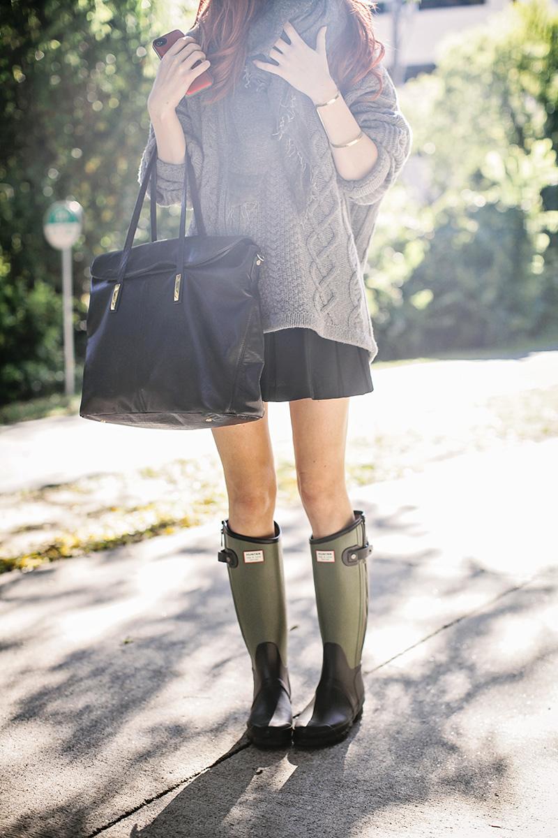 Πώς να φορέσεις τις γαλότσες με stylish τρόπο