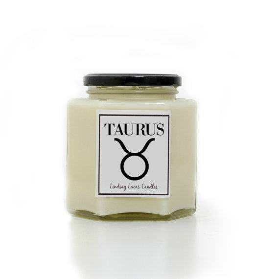 Star Sign Candle, etsy.com, €7.40