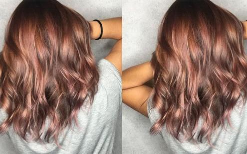 Το ροζ-καφέ είναι το χρώμα που θα δοκιμάσεις στα μαλλιά σου αυτή την Άνοιξη