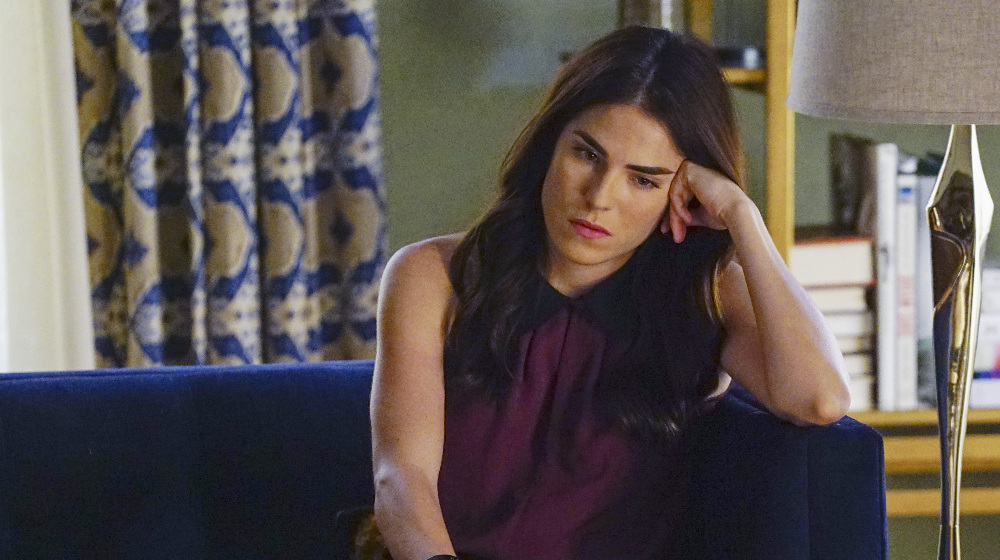 """HOW TO GET AWAY WITH MURDER - """"Something Bad Happened"""" - Annalise moves forward with a plan to protect the team from Philip but the risk involved may prove to be too dangerous. Meanwhile, Wes continues to search for new information regarding his mother's death. In flashback, the Mahoney case takes a drastic turn for Annalise's client, on """"How to Get Away with Murder,"""" THURSDAY, MARCH 3 (10:00-11:00 p.m. EST) on the ABC Television Network. (ABC/Richard Cartwright) KARLA SOUZA"""