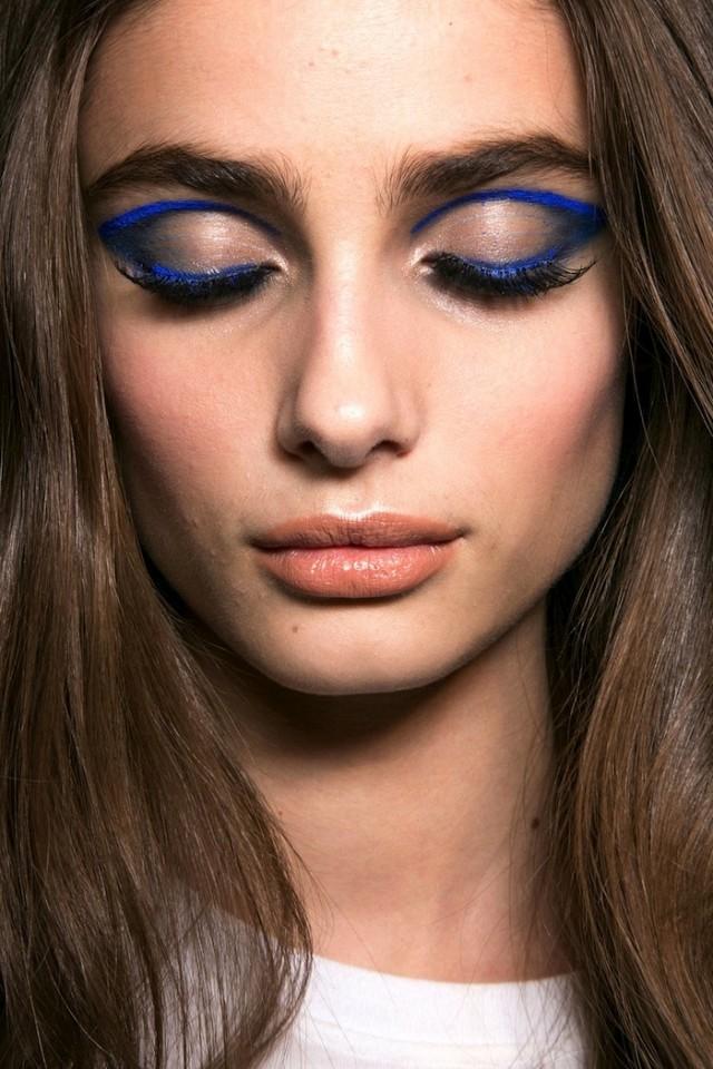 Trend Alert: The blue eyeliner